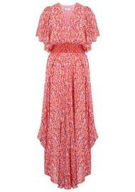 BERENICE Alia Floral Printed Maxi Dress - Abbot Kinney