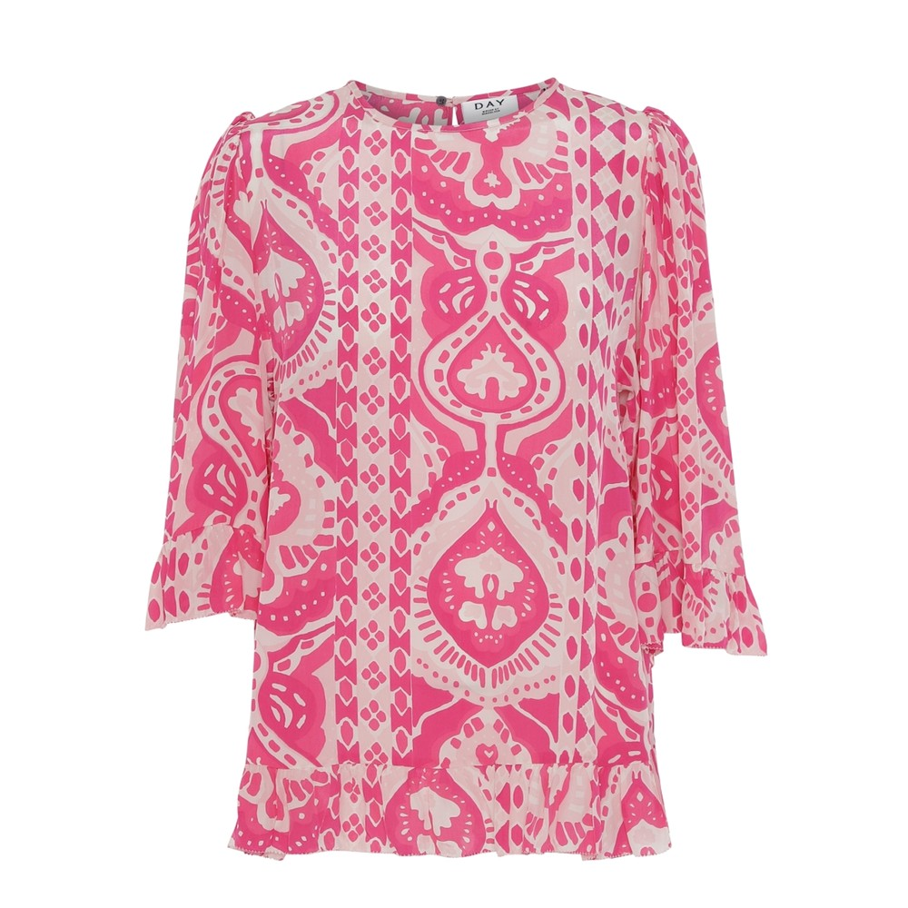 Day Bella Printed Top - Cabaret