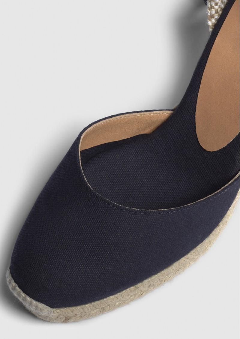 CASTANER Carina 8 Espadrille Wedge Sandal - Azul Marino main image
