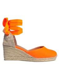 CASTANER Carina 6 Espadrille Wedge Sandal - Naranja