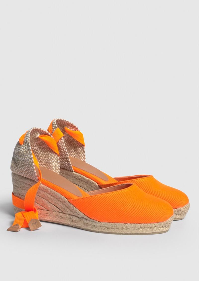 CASTANER Carina 6 Espadrille Wedge Sandal - Naranja main image