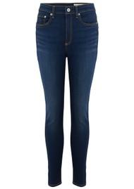 RAG & BONE Nina High Rise Ankle Skinny Jeans - Carmen
