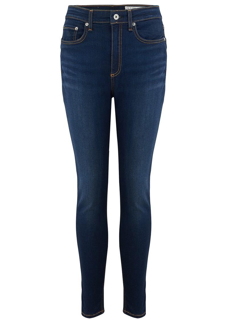 RAG & BONE Nina High Rise Ankle Skinny Jeans - Carmen main image