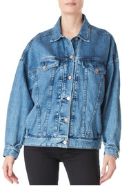 J Brand Drew Oversized Denim Jacket - Varsha
