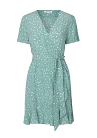 SAMSOE & SAMSOE Linetta Dress AOP - Feuilles