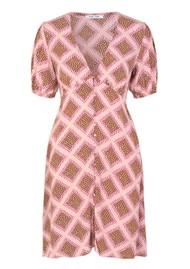 SAMSOE & SAMSOE Petunia AOP Dress - Foulard