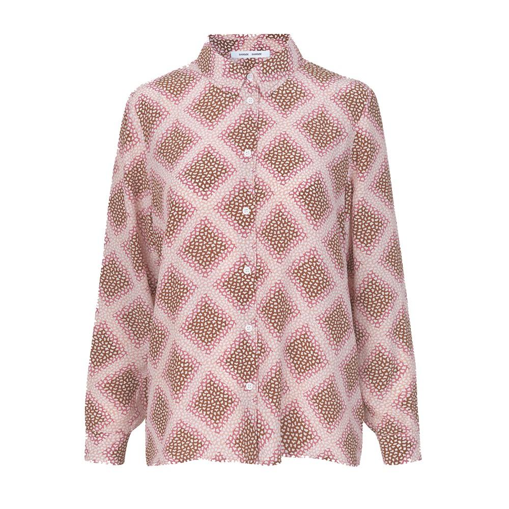 Alessandra AOP Silk Shirt - Foulard