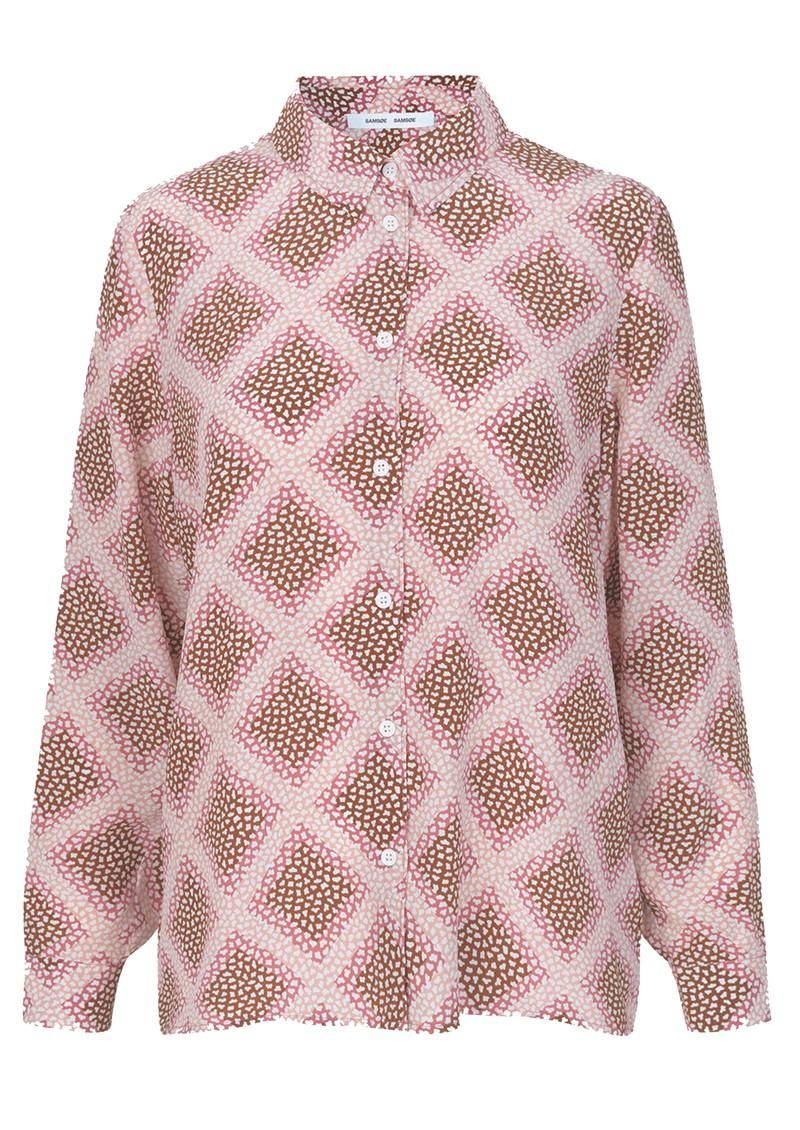 SAMSOE & SAMSOE Alessandra AOP Silk Shirt - Foulard main image