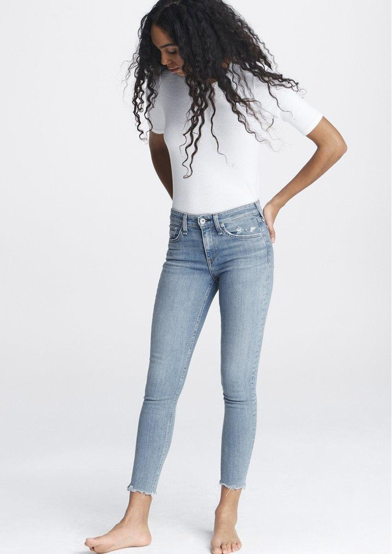 RAG & BONE Cate Mid Rise Ankle Skinny Jeans - Palmer main image
