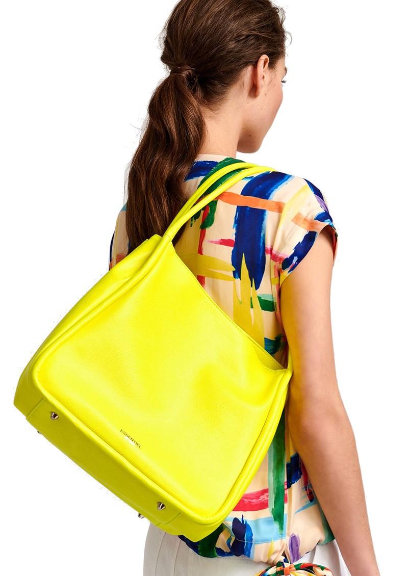 ESSENTIEL ANTWERP Vestida Tote Bag - Bright Yellow main image