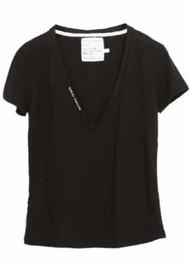 DONT TELL MAMA Little White Lies T-Shirt - Black