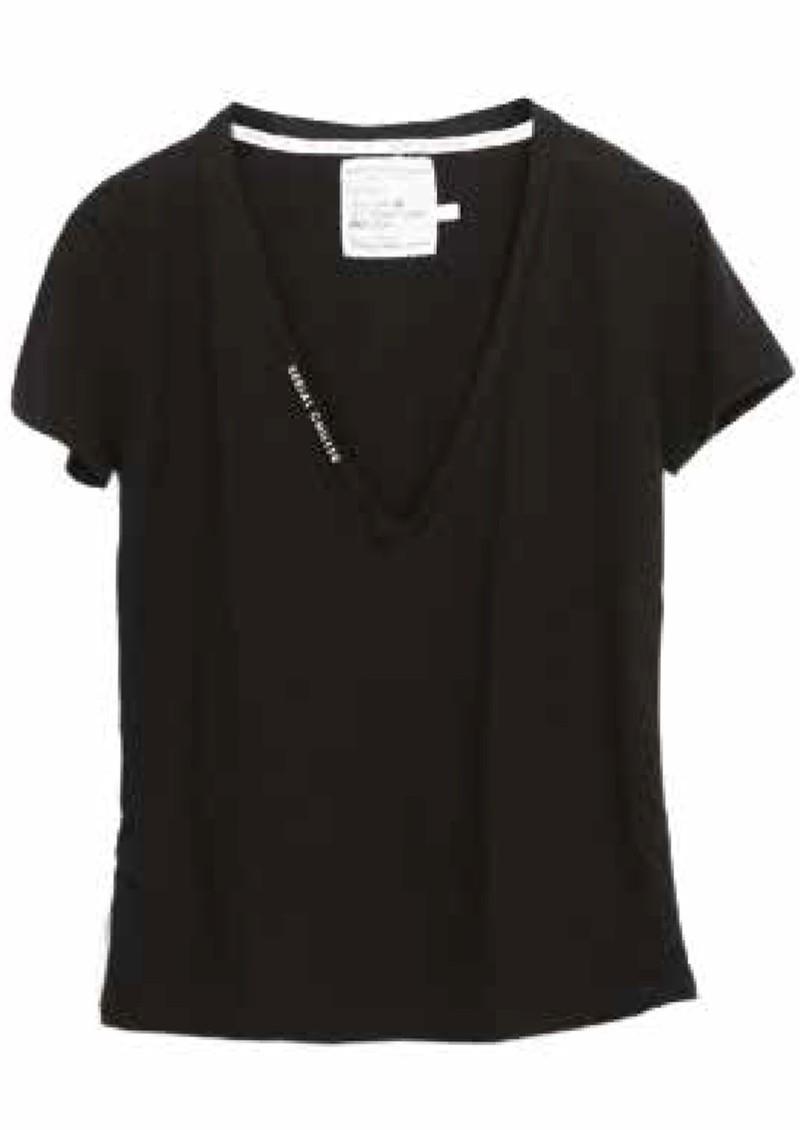 DONT TELL MAMA Little White Lies T-Shirt - Black main image