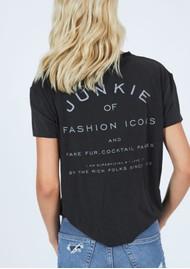 DONT TELL MAMA Fashion Icons T-Shirt - Black