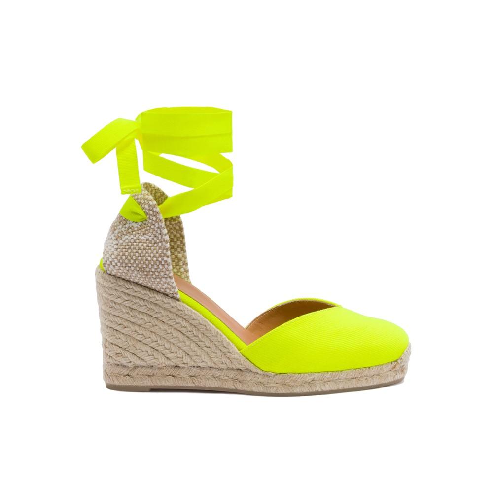 Chiara 8 Espadrille Wedge Sandal - Amarillo