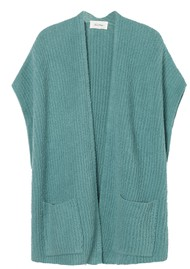American Vintage Cutebay Cardigan - Grey, Blue