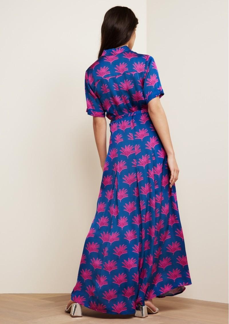 FABIENNE CHAPOT Mia Printed Maxi Dress - Fan Blue main image