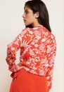 FABIENNE CHAPOT Lily Lou Printed Blouse - Cool Coral