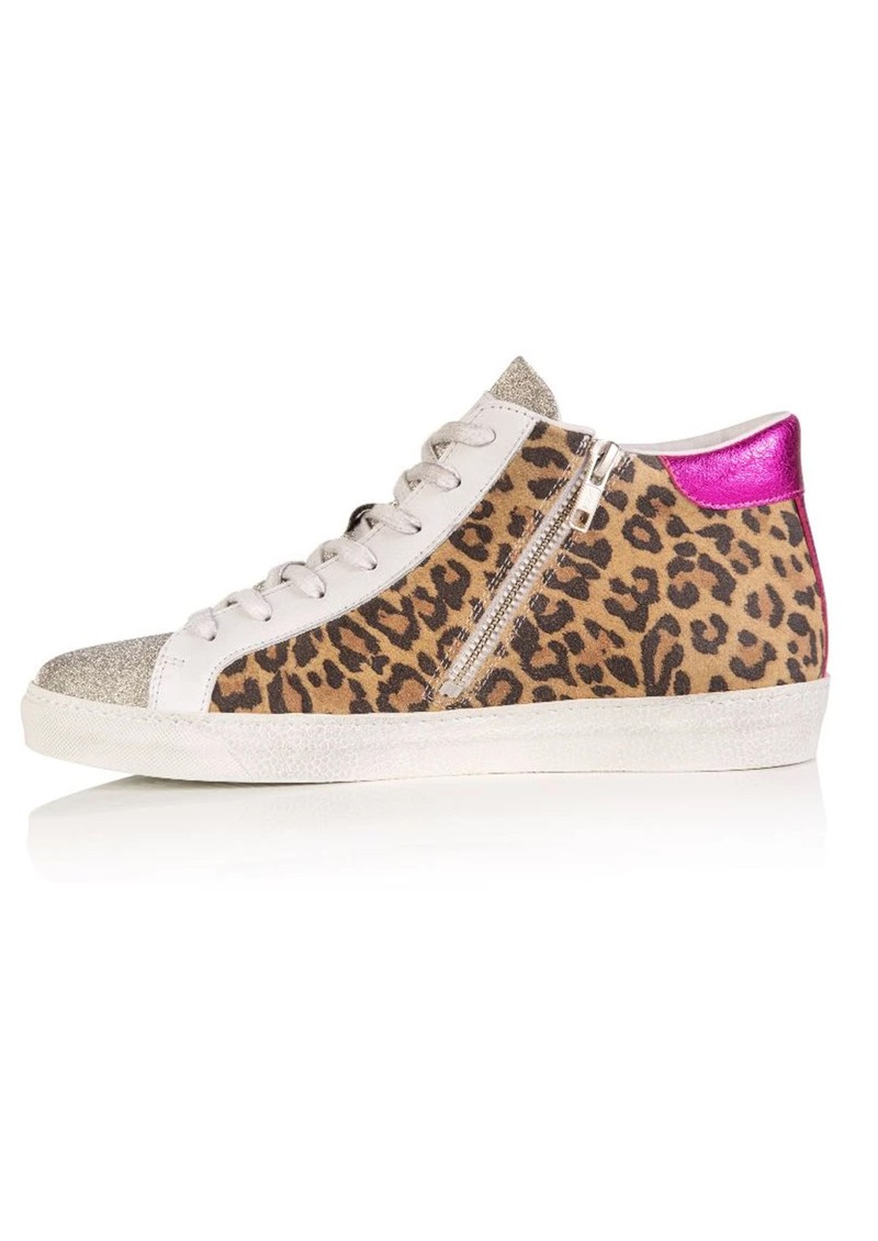 AIR & GRACE Alto Trainer - Leopard & Pink Metallic main image