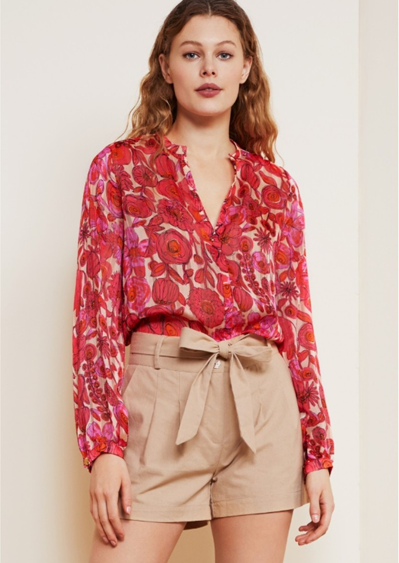 FABIENNE CHAPOT Frida Lou Printed Blouse - Flower Curtain main image