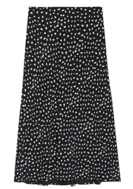 Rails Anya London Skirt - Black Ivory Spots