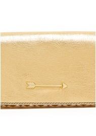 MERCULES Hammer Stars Leather Bag - Gold