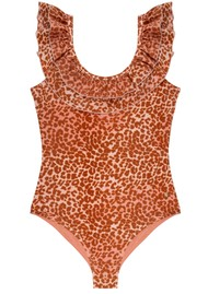 LOVE STORIES Ruby Bathing Suit - Leopard Pink