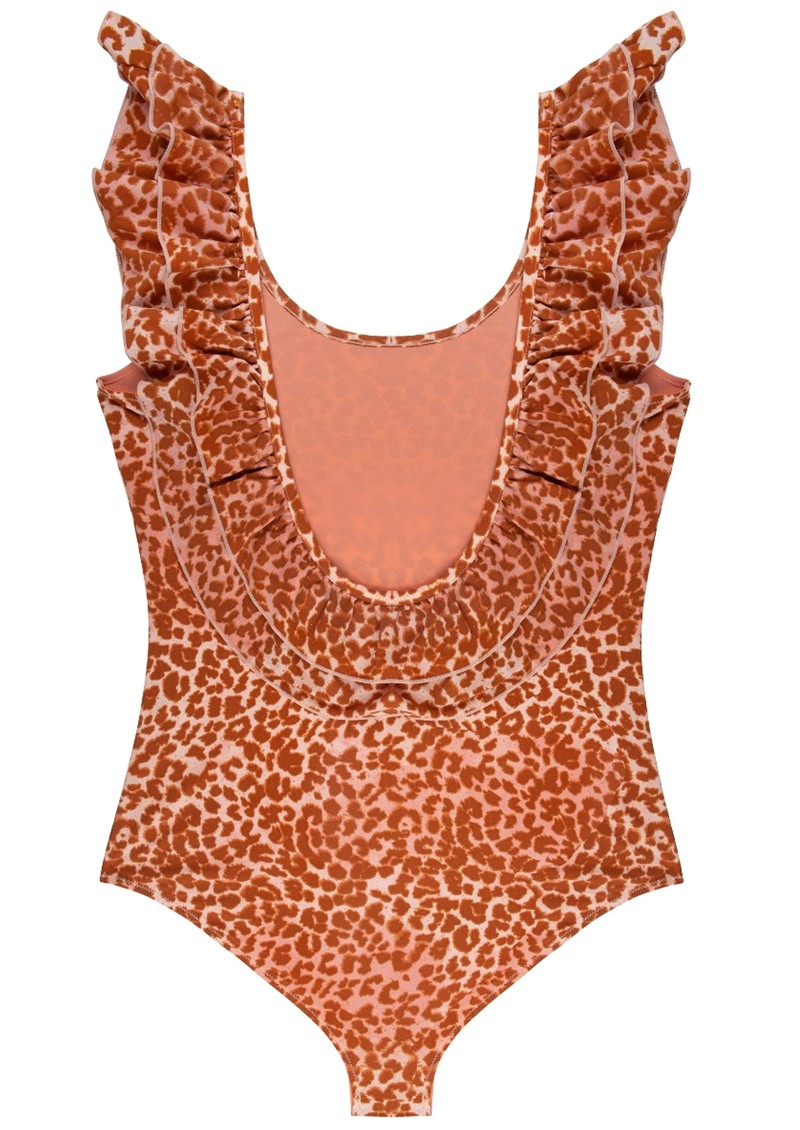 LOVE STORIES Ruby Bathing Suit - Leopard Pink main image