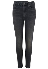 RAG & BONE Nina High Rise Ankle Skinny Jeans - Royal Oak