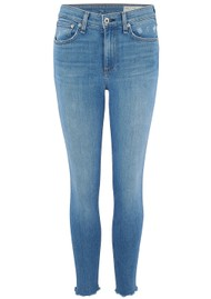 RAG & BONE Cate Mid Rise Ankle Skinny Jeans - Palmer