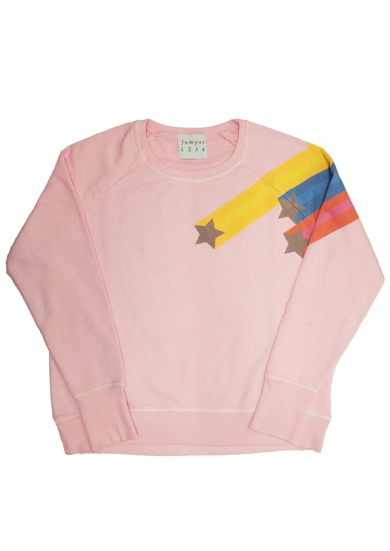 JUMPER 1234 Shooting star Sweatshirt - Blossom  main image