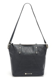 MERCULES Carpenter Leather Bag - Black