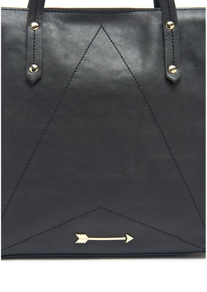 Carpenter Leather Bag - Black main image