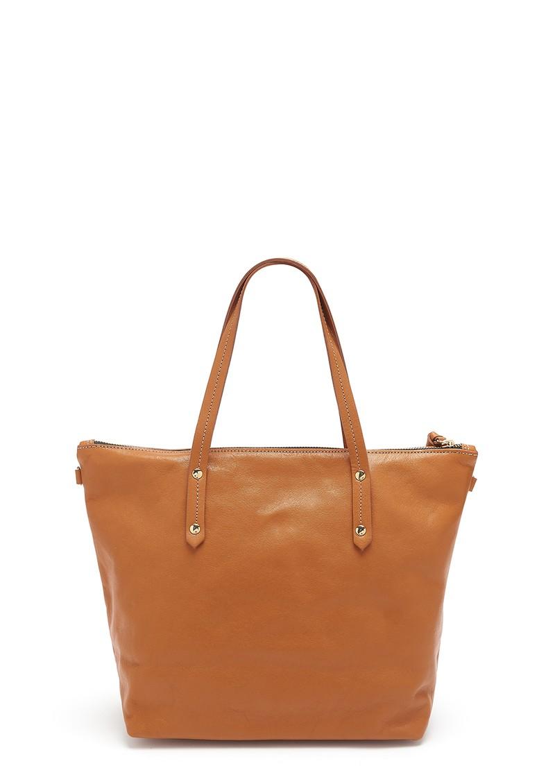 MERCULES Carpenter Leather Bag - Tan main image