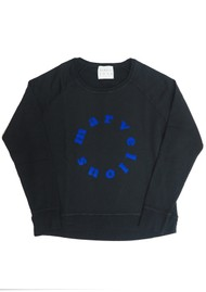 JUMPER 1234 Marvellous Sweatshirt - Black