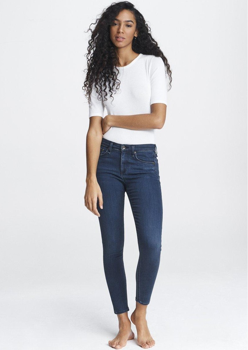 RAG & BONE Cate Mid Rise Ankle Skinny Jeans - Dahlia main image