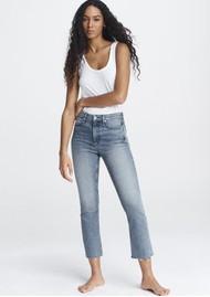 RAG & BONE Nina High Rise Ankle Flare Jeans - Freya