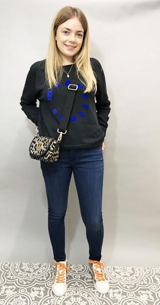 JUMPER 1234 Marvellous Sweatshirt - Black main image