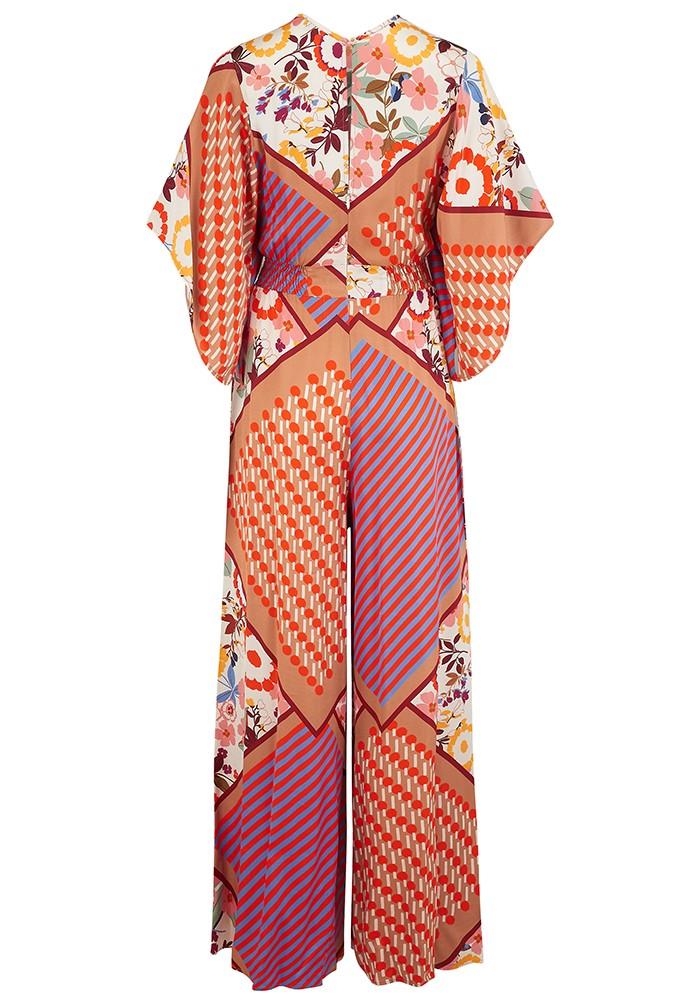 SFIZIO Tutu Floral Printed Jumpsuit - Multi main image