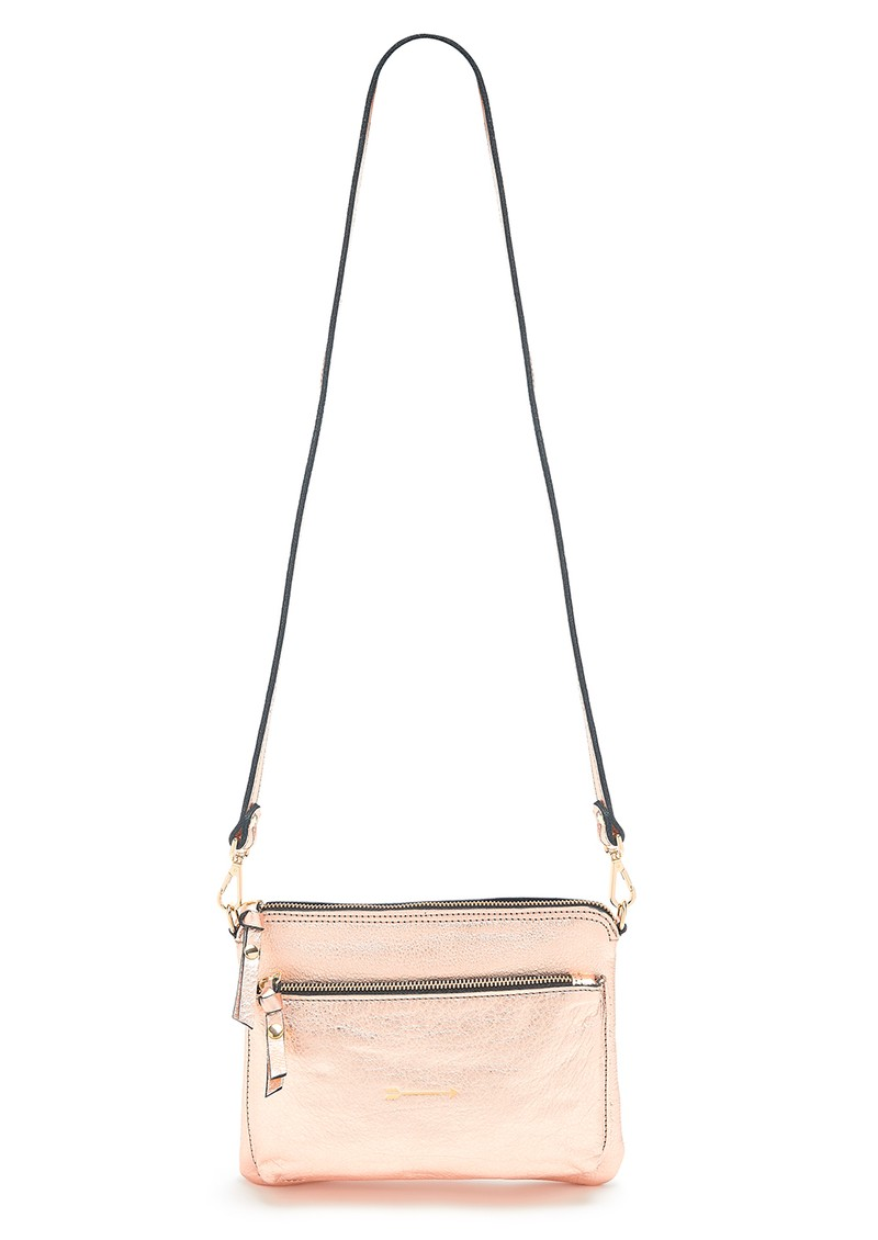Bugsy Leather Bag - Metallic Copper main image