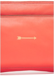 MERCULES Bugsy Leather Bag - Coral