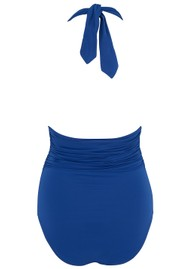 LENNY NIEMEYER Adjustable Halter One Piece Swimsuit - Royal Blue