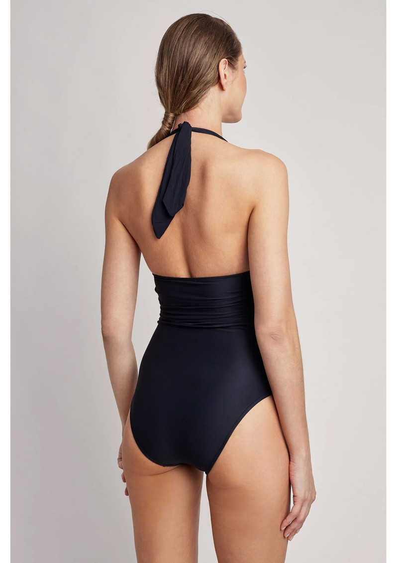 LENNY NIEMEYER Adjustable Halter One Piece Swimsuit - Black main image