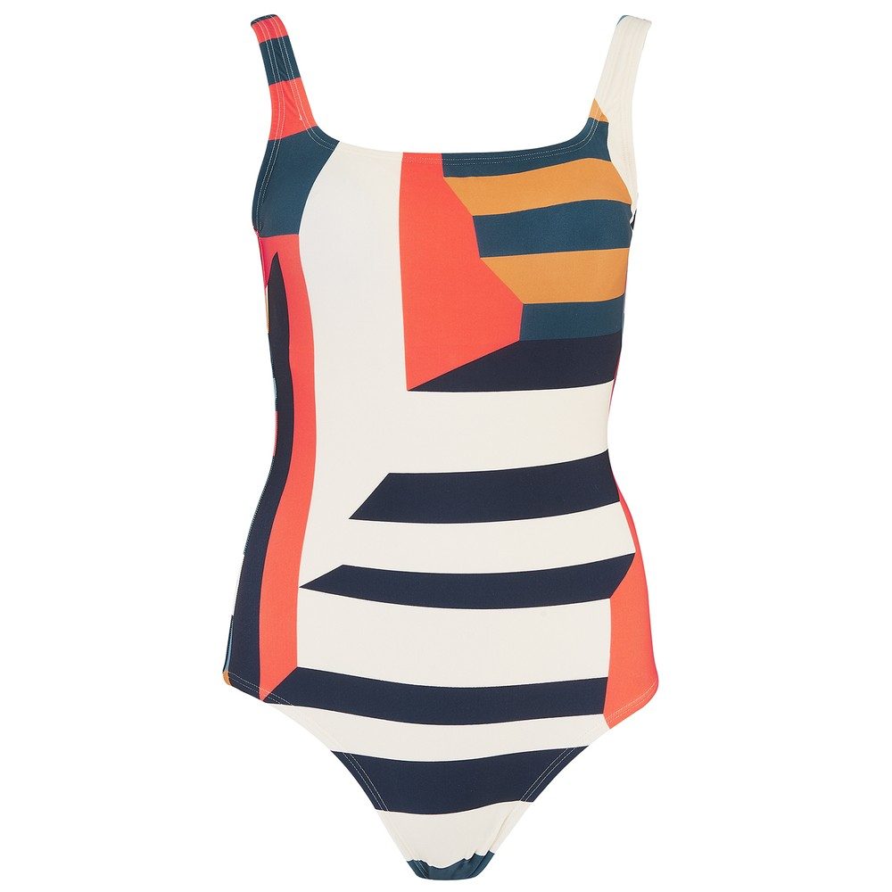 Classic Maillot One Piece Swimsuit - Mexico