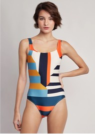 LENNY NIEMEYER Classic Maillot One Piece Swimsuit - Mexico