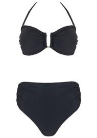LENNY NIEMEYER Drop Bandeau Bikini - Black