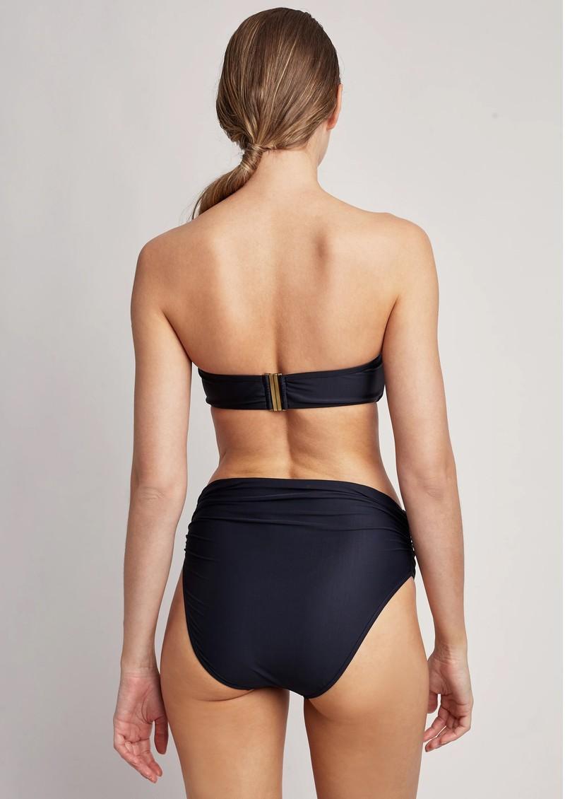 LENNY NIEMEYER Drop Bandeau Bikini - Black main image
