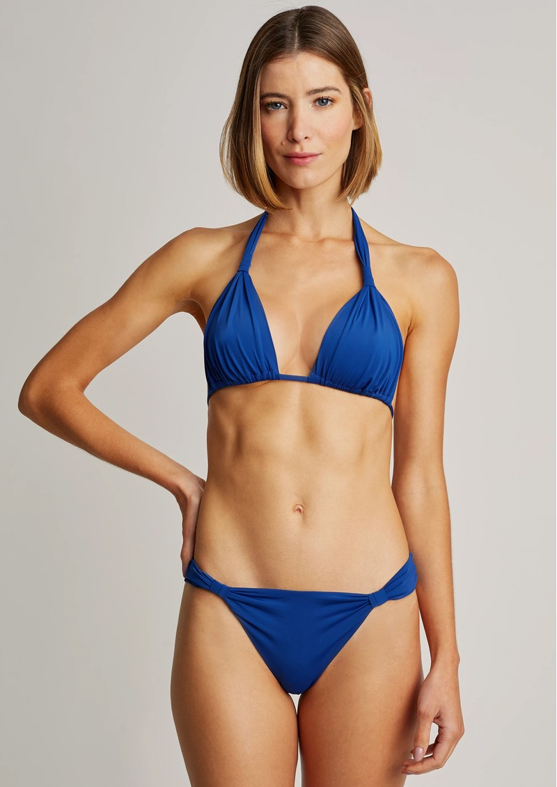 LENNY NIEMEYER Adjustable Padded Ruched Bikini - Royal Blue main image