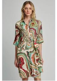LENNY NIEMEYER Short Chemise Dress - Mineral