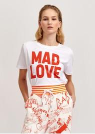 ESSENTIEL ANTWERP Vlogan T-shirt - White