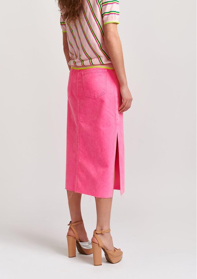 ESSENTIEL ANTWERP Virt Denim Skirt - Pink main image